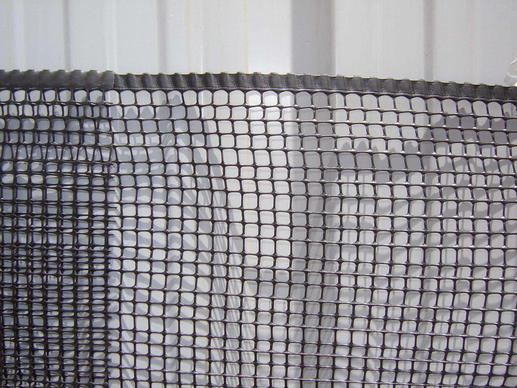Cerco pl stico qd100 10 detalle cuadrado 10x10 netting s a - Cerramientos de plastico ...